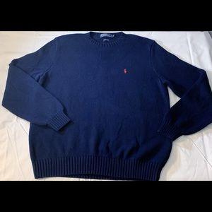 Polo Ralph Lauren Sweater, XL navy blue